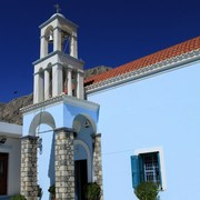 Greece - a church in Telendos island