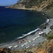 Greece - a beach at Telendos island 01