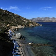 Greece - a beach at Telendos island 02