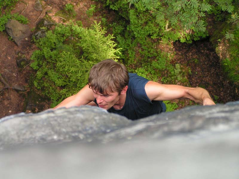 Czechia - climbing in the Elbe Sandstone 16