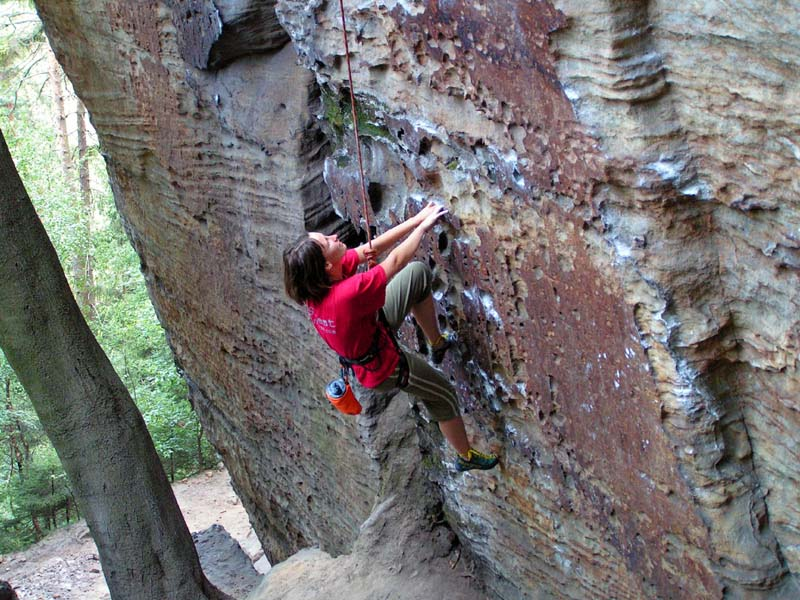 Czechia - climbing in the Elbe Sandstone 24