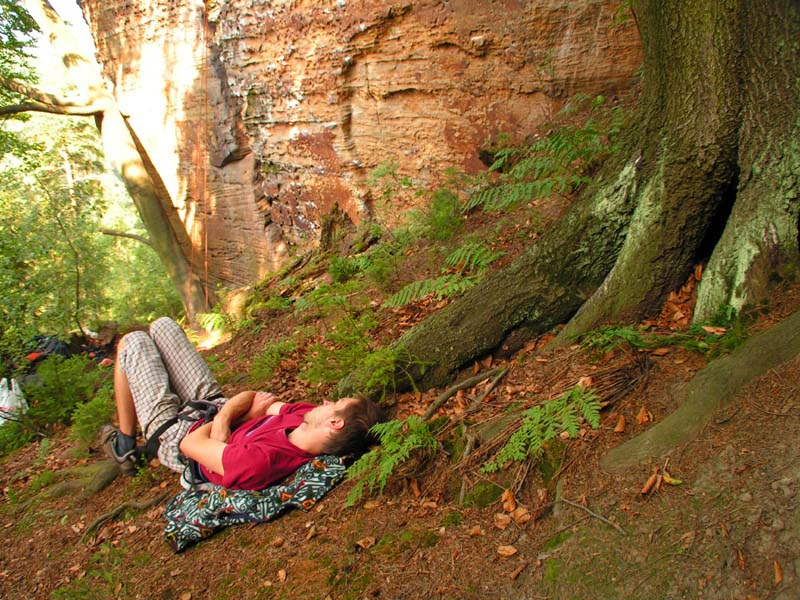 Czechia - climbing in the Elbe Sandstone 26