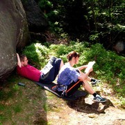Czechia - climbing in the Elbe Sandstone 83