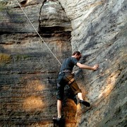 Czechia - climbing in the Elbe Sandstone 95