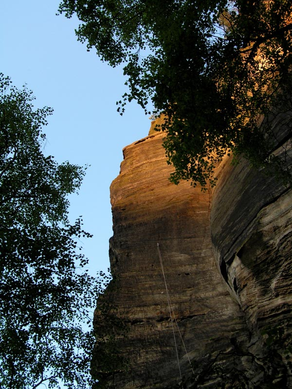 Czechia - climbing in the Elbe Sandstone 96