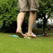 Czechia - Slackline festival - on the line