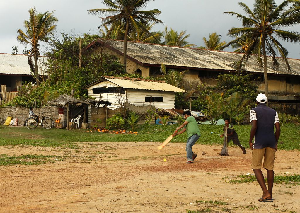 Sri Lanka - Negombo - cricket game