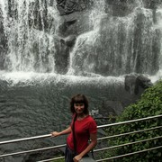 Sri Lanka - Horton Plains - Baker's Fall 03