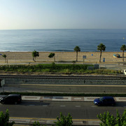 Spain - a beach at Pineda de Mar 01