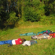 Czechia - sleeping outside in Kozelka