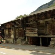 The Swiss Alps - village Issert 01