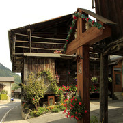 The Swiss Alps - village Issert 02