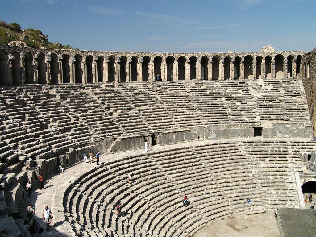 Turkey - Aspendos theatre 08