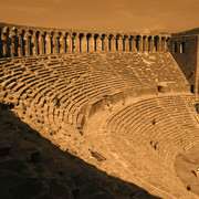 Turkey - Aspendos theatre 10