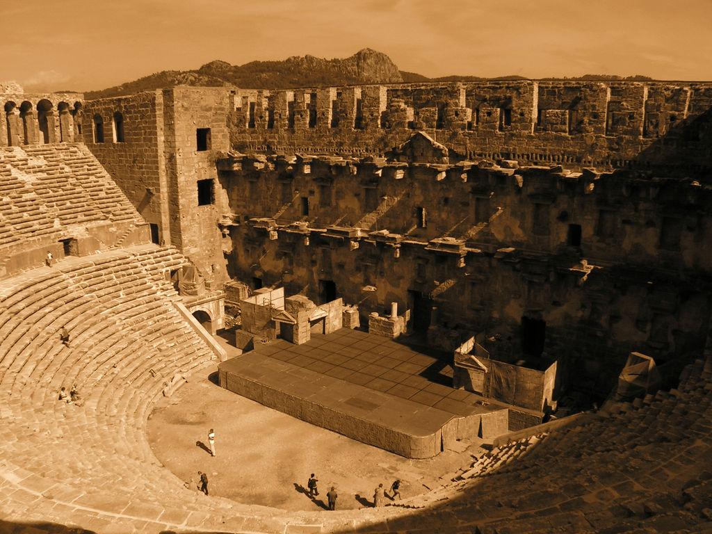 Turkey - Aspendos theatre 11