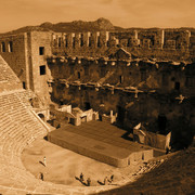 Turkey - Aspendos theatre 11