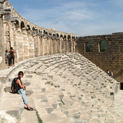 Turkey - Aspendos theatre 12