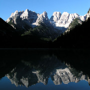 A lake in Italian Dolomites