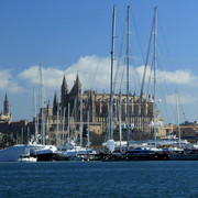 Sailing in the Bay of Palma de Mallorca 05