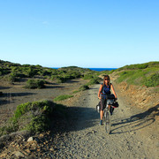 Menorca - Camino de caballos on bike 08