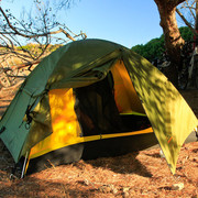 Menorca - camping in a nature