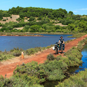 Menorca - Camino de caballos on bike 09