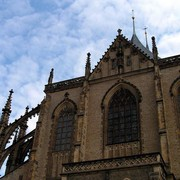 Czechia - Kutná Hora - Church of St.Barbara 01