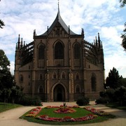 Czechia - Kutná Hora - Church of St.Barbara 02