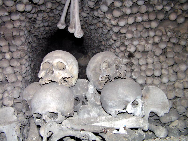 Czechia - inside Ossuary Chapel in Sedlec 01