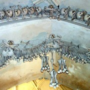 Czechia - inside Ossuary Chapel in Sedlec 06