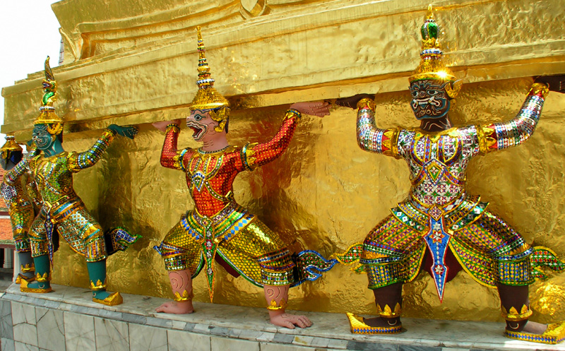 Thailand - Bangkok - The Grand Palace 02