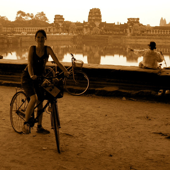 Cambodia - Angkor Wat bicycle trip