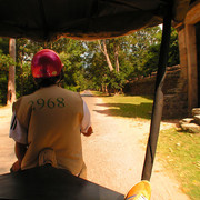 Cambodia - Our driver in Angkor wat