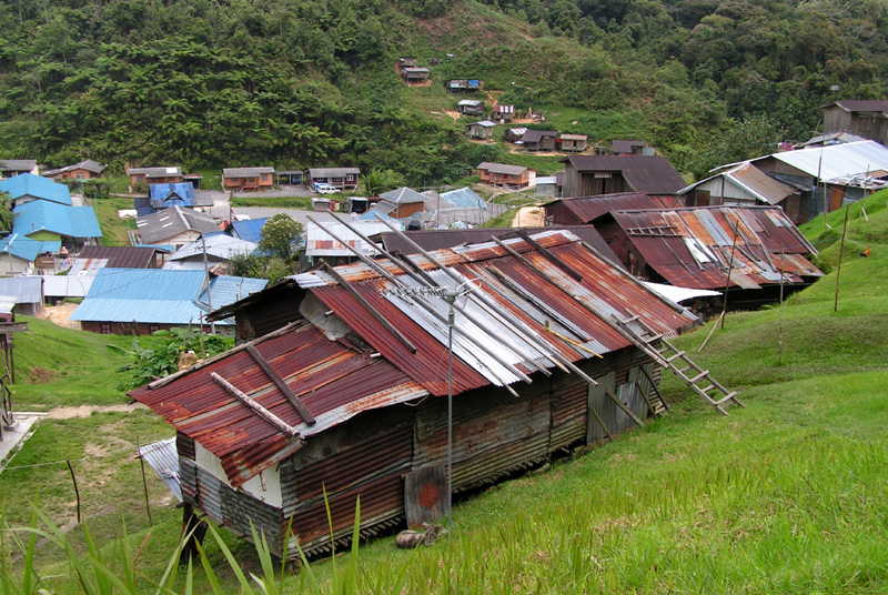 Malaysia - a tribal village in Cameron Highlands 01