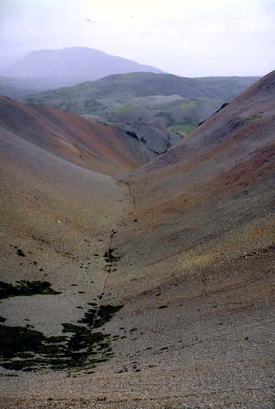 Colourful Liparite mountains