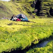The best camping place in Iceland