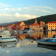 Croatia - Hvar - a port in Stari Grad