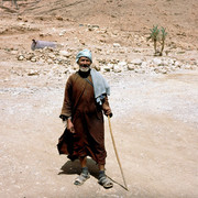Marocco - an old Berber man