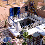 Our hotel in Marrakech